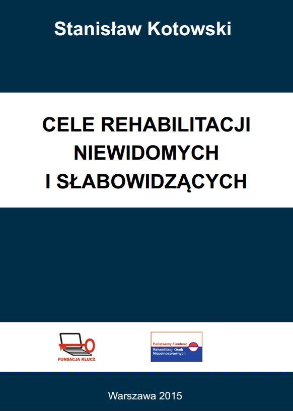 Okładka książki Cele rehabilitacji